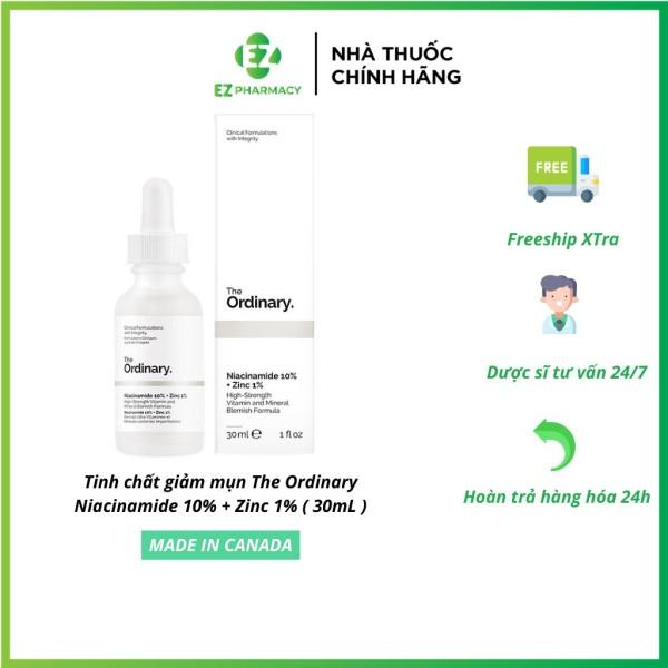 Tinh chất giảm mụn The Ordinary Niacinamide 10% + Zinc 1% ( 30mL ) giá rẻ