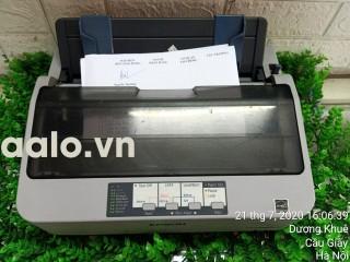 Máy in kim Epson LQ-310 (khổ A4 24 kim) kèm Băng mực , dây nguồn và dây USB mới thumbnail