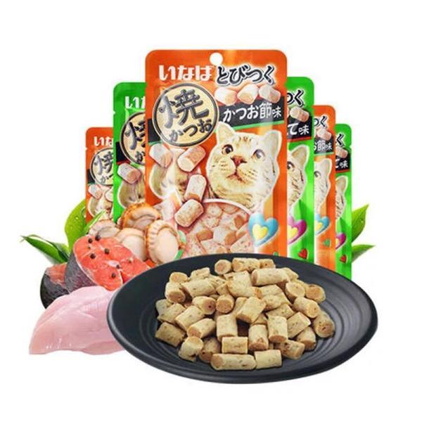 Bánh thưởng cho mèo Inaba Ciao 25g các vị - Snack thưởng cho mèo Ciao 25g