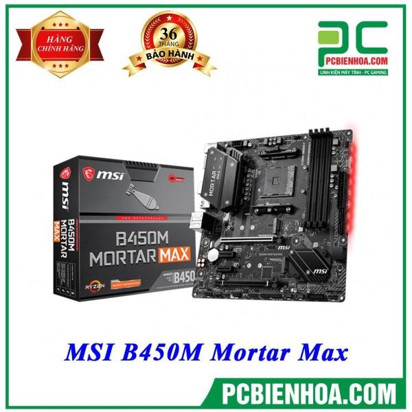 Bảng giá Mainboard MSI B450M Mortar Max ( AM4 / M-ATX / 4xDDR4 ) Phong Vũ