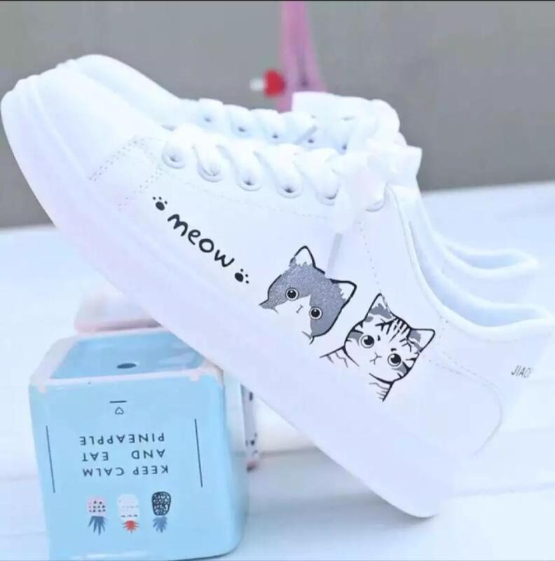 Giày thể thao nữ Meow Meow siêu xinh kèm clip