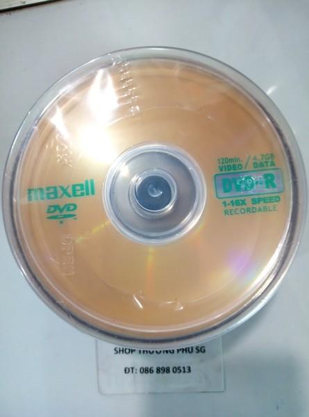 Bảng giá Đĩa trăng DVD-R MAXELL - 16X - 4.7GB - 120MIN (Lốc 50 DVD) Phong Vũ