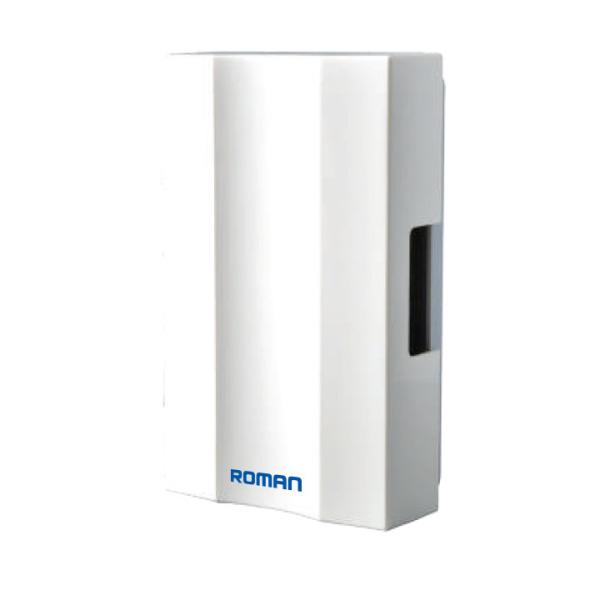 Bộ chuông cửa có dây thông minh ELG8003 Roman chính hãng + Chất liệu nhựa ABS cao cấp chống nước, chống va đập tốt + Âm lượng 90db