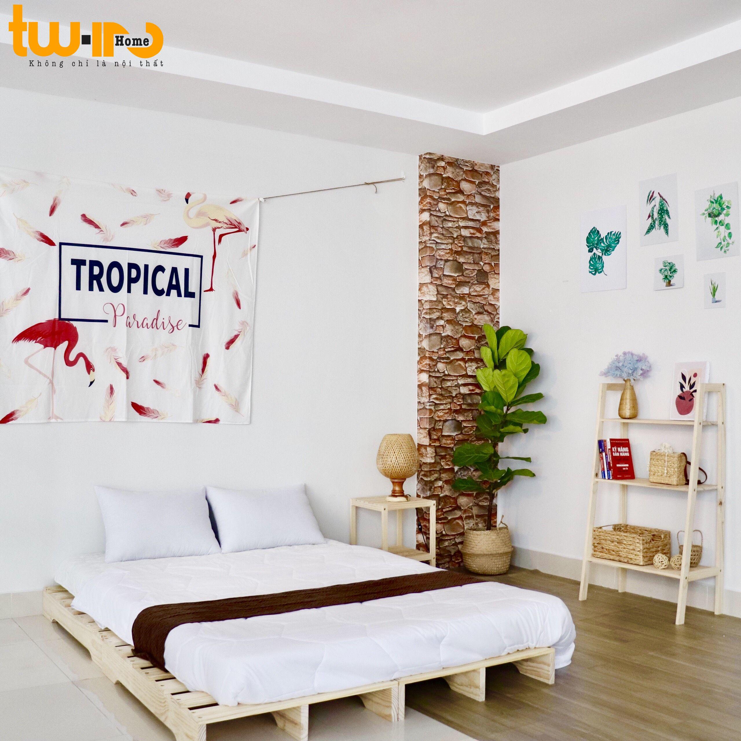Offer Khuyến Mãi Gường Ngủ Gỗ Thông Minh -Twin Home
