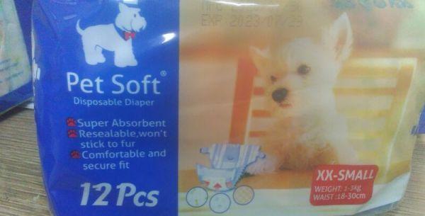 Bỉm chó Cái Pet Soft Size XXS(1-3kg)