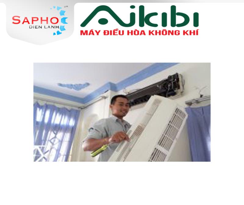 BẢO TRÌ MÁY LẠNH TẠI NHÀ 15 BƯỚC CAC PRO SERVICE 2021 - TREO TƯỜNG 1HP ĐẾN 2HP - AIKIBI ĐIỆN MÁY SAPHO