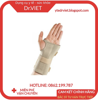 Băng nẹp khớp cổ tay 2 bên - Thermoskin Universal Wrist Wrap xuất sứ Australia bảo vệ và hỗ trợ gân khớp cổ tay thumbnail