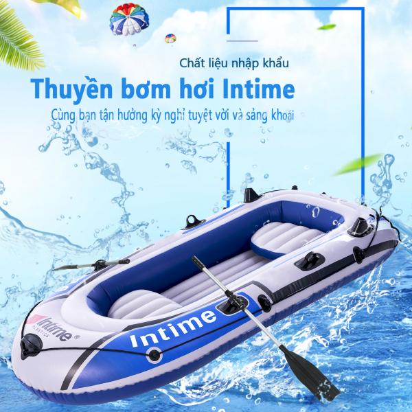 Thuyền hơi thuyền phao xuồng bơm hơi thuyền câu cá INTIME chứa 3người 4 người lớn dày hơn rộng hơn cao cấp chắc chắn thuyền dã ngoại tuyệt vời  camry