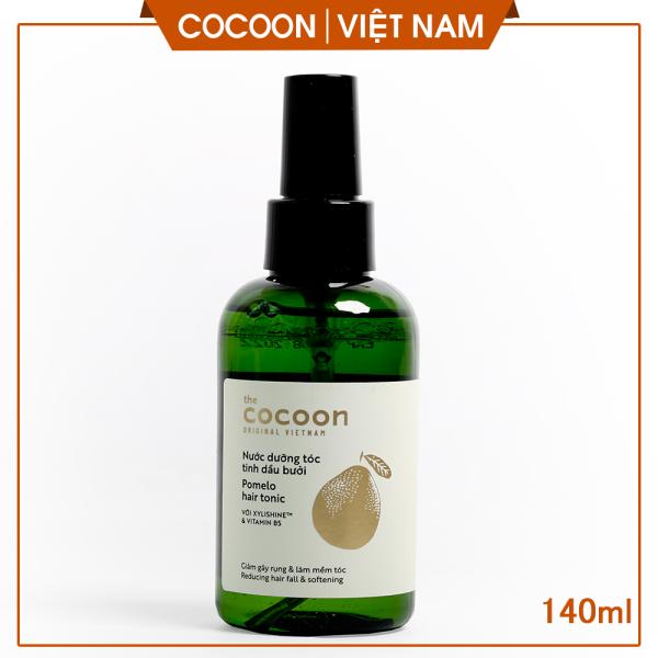 Nước dưỡng tóc tinh dầu bưởi ngăn ngừa rụng tóc, giúp tóc mọc nhanh, cải thiện hư tổn nặng (pomelo hair tonic) Cocoon Viet Nam140ml