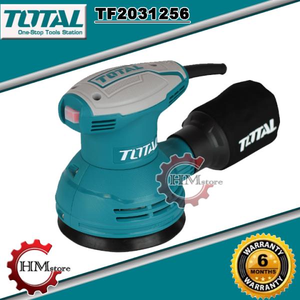 Máy Chà Nhám Gỗ Cầm Tay Total TF2031256 - Máy chà nhám rung chữ nhật Total - Máy chà nhám Total 320w - Bảo hành 6 tháng