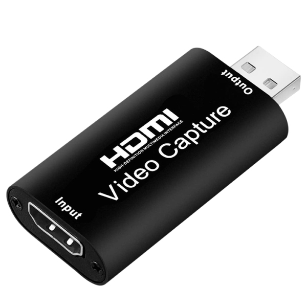 Bảng giá Audio Video Capture Cards HDMI to USB 2.0 1080P 4K Record Via DSLR Camcorder Action Cam for High Definition Acquisition Phong Vũ