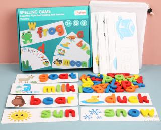 Bộ ghép chữ tiếng anh con ếch SPELLING GAME - Đồ chơi giáo dục thông minh cho bé thumbnail