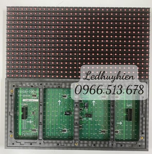 Bảng giá Module led ma trận P10 màu đỏ ngoài trời ( module led p10 1 màu outdoor) đủ phụ kiện