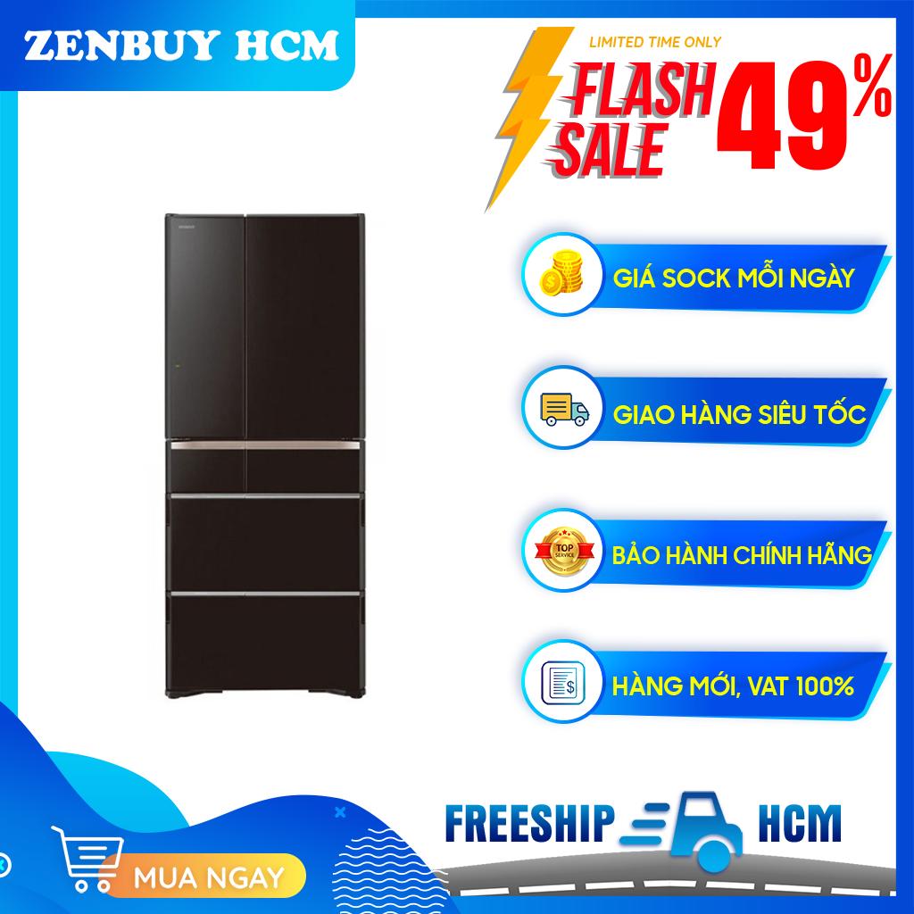 Tủ lạnh Hitachi Inverter 474 lít R-G620GV(XK) - Công nghệ làm lạnh Frost Recycling, Hệ thống khử mùi ba lớp