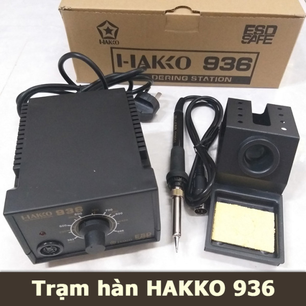 Trạm hàn Hakko 936 máy hàn mỏ hàn chuyên dụng công nghệ nhật bản điều chỉnh nhiệt độ