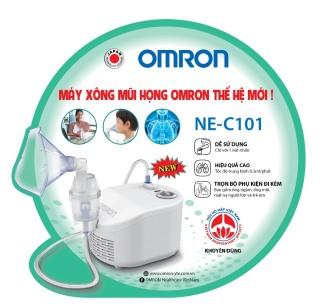 [HCM] Máy xông mũi họng Omron NE-C101 hỗ trợ điều trị các bệnh về đường hô hấp như viêm xoang, hen suyễn, tắc nghẽn phổi... thumbnail