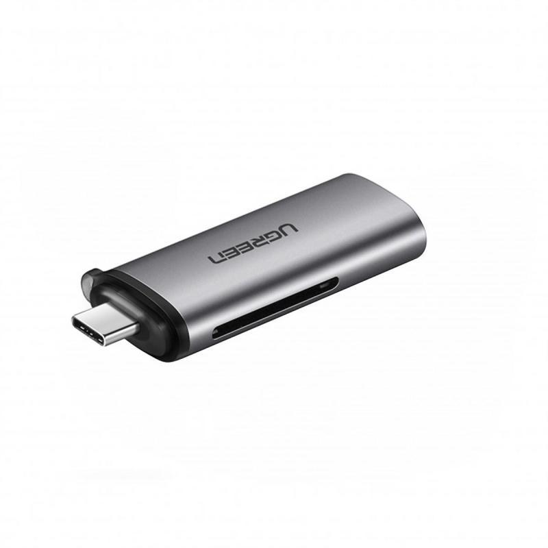 Bảng giá Đầu đọc thẻ SD/TF USB type-C Ugreen 50704 Phong Vũ