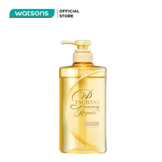 Dầu Gội Tsubaki Premium Repair Shampoo Phục Hồi Hư Tổn 490ml thumbnail