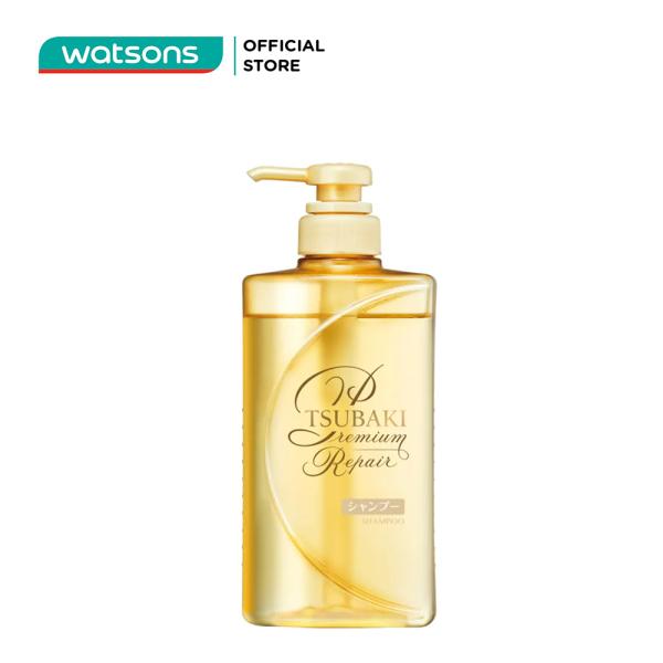 Dầu Gội Tsubaki Premium Repair Shampoo Phục Hồi Hư Tổn 490ml cao cấp