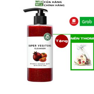 Sữa Rửa Mặt Rau Củ 3 Trong 1 Tẩy Trang Rửa Mặt Thải Độc Byvibes Wonder Bath Super Vegitoks Cleanser 300ml [ĐỎ] thumbnail