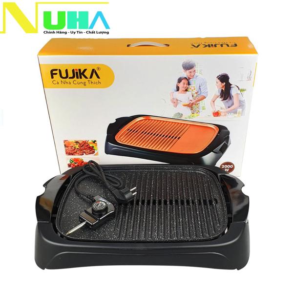 Bếp Nướng Điện Cao Cấp Fujika FJ-EG3620 Công Suất 2000W Nướng Cực Nhanh, bảo hành 12 tháng