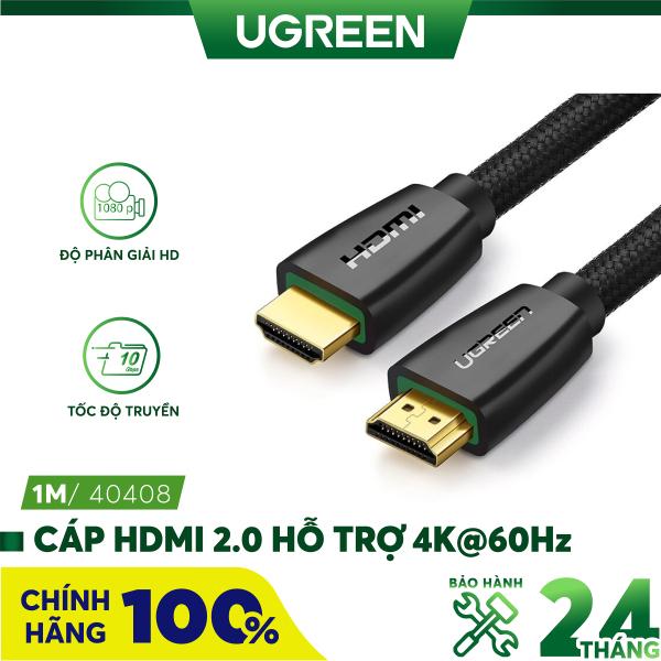 Bảng giá [Nhập ELMAY21 giảm thêm 10% đơn từ 99k] Cáp HDMI 2.0 hỗ trợ 3D, 4K dài từ 1-15m UGREEN HD118 - Hãng phân phối chính thức Phong Vũ