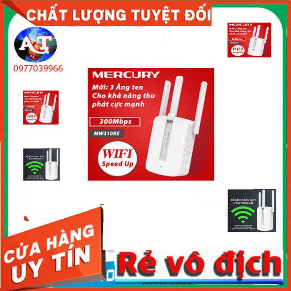 Bảng giá [TRỢ GIÁ] Bộ Kích Sóng Wifi 3 Râu Mercury (Wireless 300Mbps) Cực Mạnh, kích sóng wifi, bộ kích wifi Phong Vũ