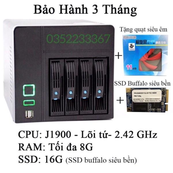 Bảng giá Xpenology, ổ cứng mạng J1900 lõi tứ 2.0Ghz, LAN Gigabit Phong Vũ