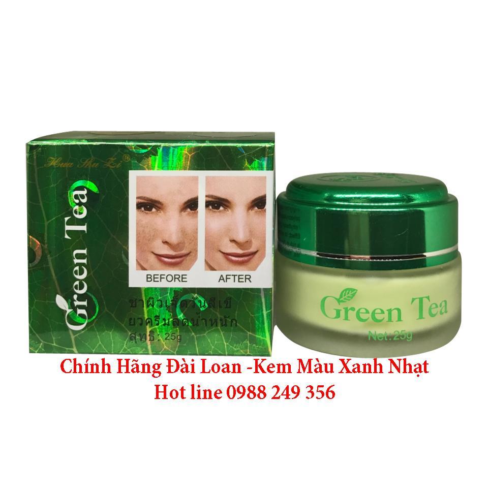 KEM ĐẶC TRỊ NÁM TRẮNG DA TRÀ XANH GREEN TEA TAIWAN 25G nhập khẩu