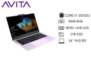 [Trả góp 0%]AVITA LIBER V 14 Fragrant Lilac with Backpack - Intel Core i7-10510U RAM 8GB SSD 1TB Win 10 Home - Bảo hành 18 tháng - Tặng Balo - Hàng chính hãng thumbnail