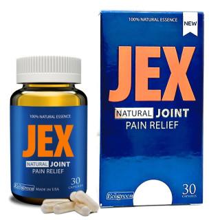 Viên uống [ Jex Natural Joint Pain Relief] Hỗ trợ xương khớp chai 30 viên thumbnail