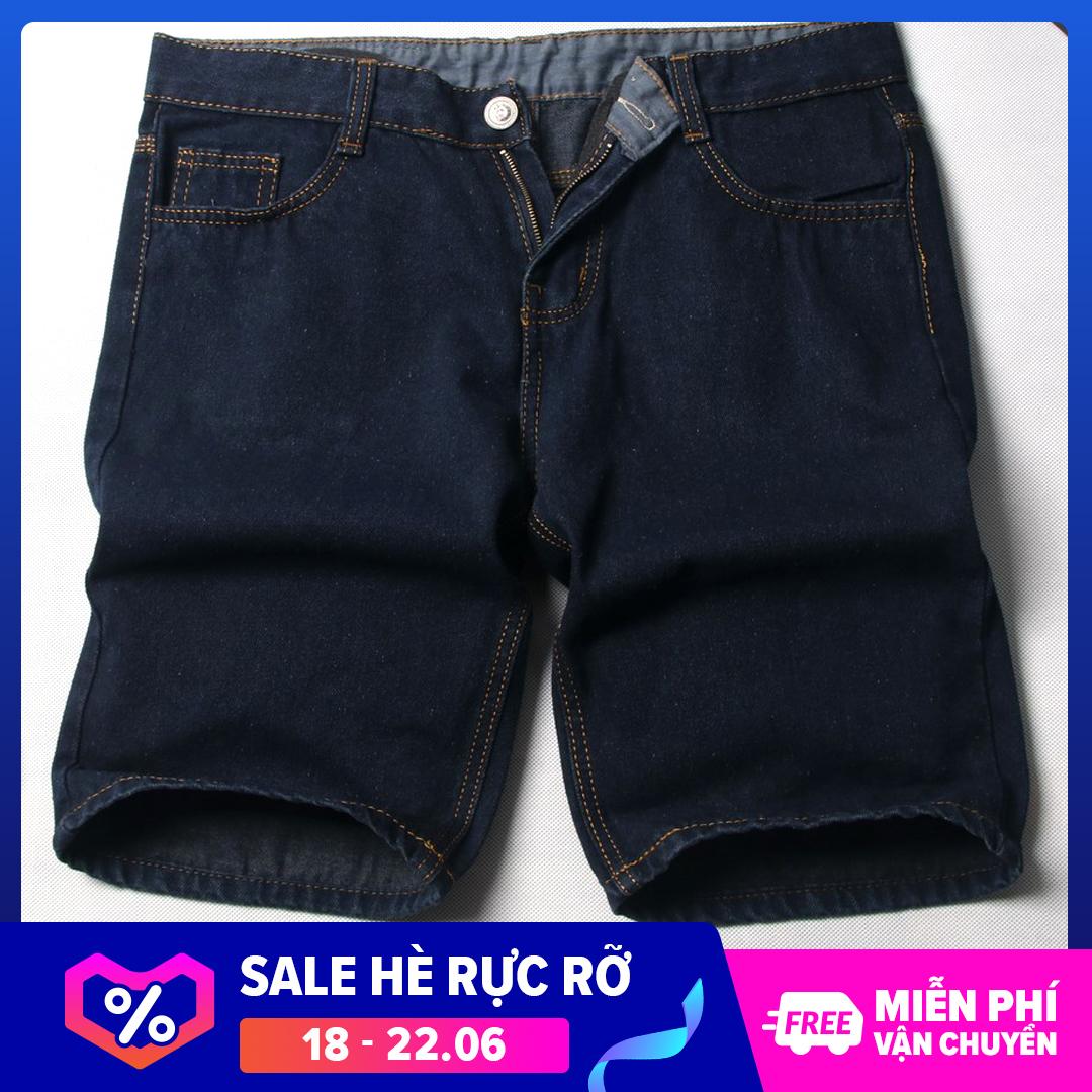 Quần Short Jeans Nam Có Videos Tự Quay Xanh đậm đẹp Bền Quan Short Nam Muidoi ( Q392 ) Giá Tốt Nhất Thị Trường