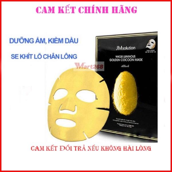 Mặt Nạ Hàn Quốc Cao Cấp Kén Tằm Vàng JM Solution Water Luminous Golden Cocoon Mask 45ml