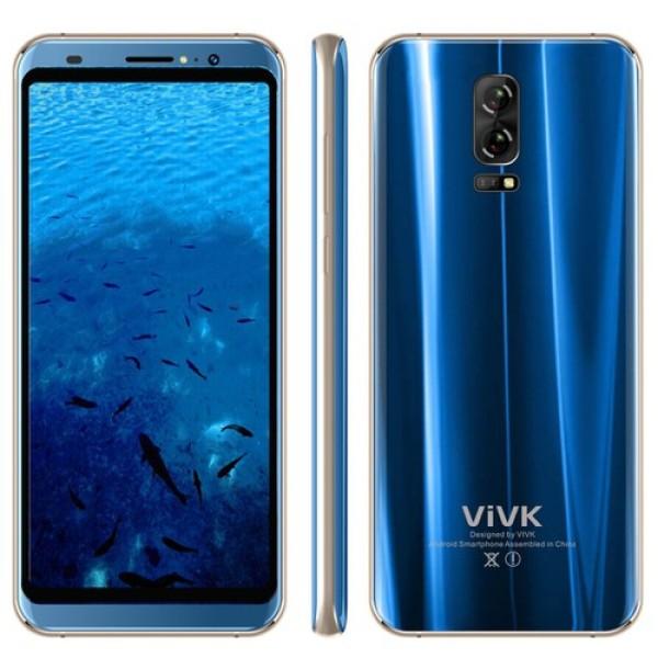 Điện thoại ViVK R5 - 2 SIM - RAM 1GB - ROM 8GB - Màn hình 5.72 inch - Tặng ốp lưng