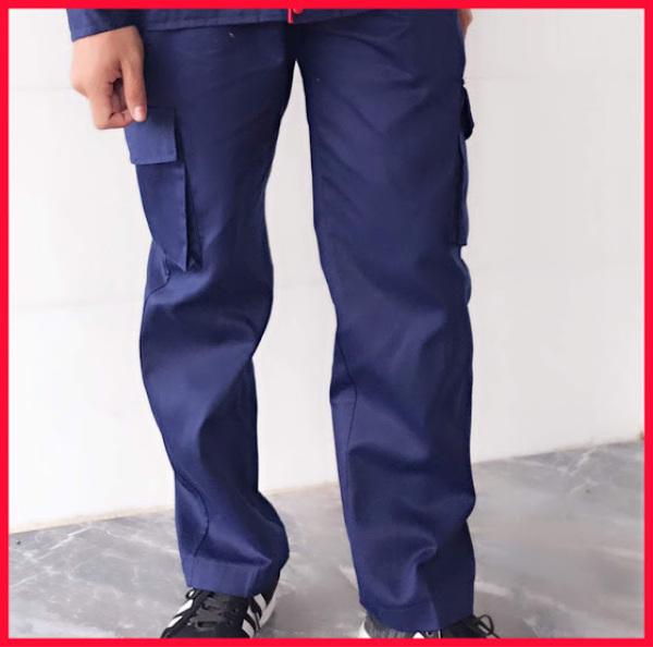 Quần kaki túi hộp nam nữ SHUNI01QBH bảo hộ lao động