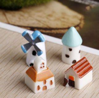 Combo 2 Nhà nhỏ trang trí tiểu cảnh thumbnail