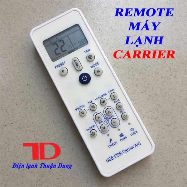 Remote máy lạnh CARRIER , điều khiển máy lạnh CARRIER