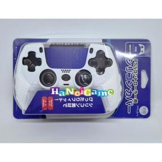 Bọc Silicone Tay cầm PS5 DualSense Hãng IINE (Màu Trắng) thumbnail
