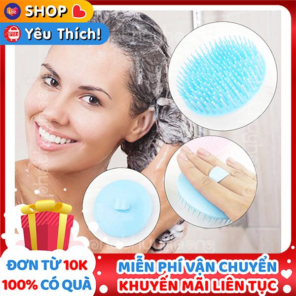 Dụng cụ gội massage đầu giá rẻ bằng nhựa dễ chịu và thoải mái ✔Phát Huy Hoàng