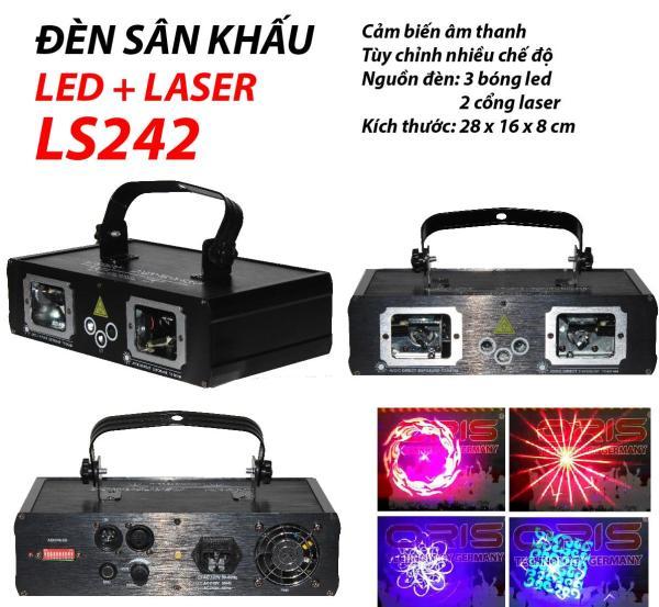 Đèn sân khấu Led + Laser LS242