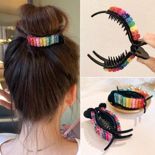 [ACC] Kẹp tóc cầu vồng Kẹp tóc thời trang cho nữ INS Sweet Barrettes Headband Phụ kiện tóc thumbnail