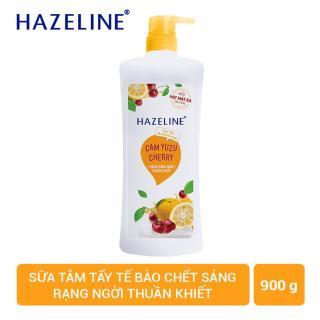Chai Sữa tắm dưỡng da Hazeline 900gr -Chai Cam thumbnail