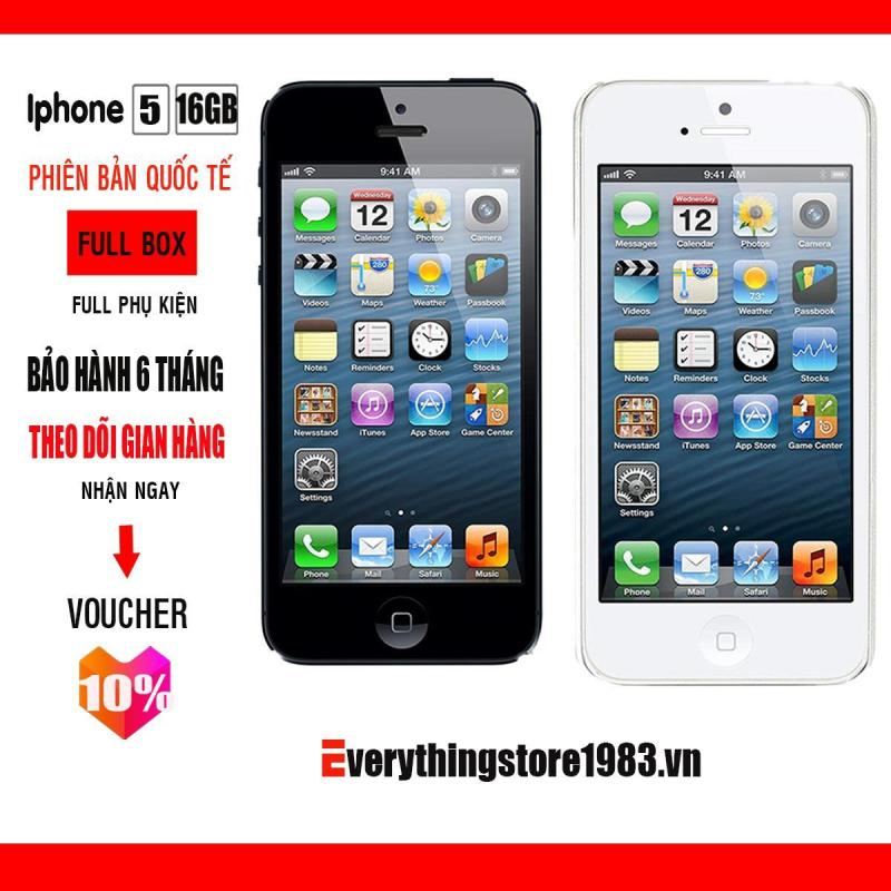 Điện thoại Apple Iphone 5 - 16GB Fullbox - Bảo hành 6T - Bao đổi trả 7 ngày
