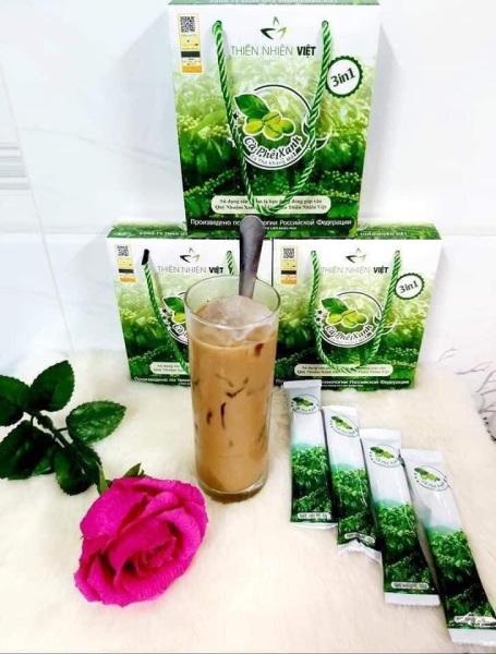 Cà phê xanh thiên nhiên việt