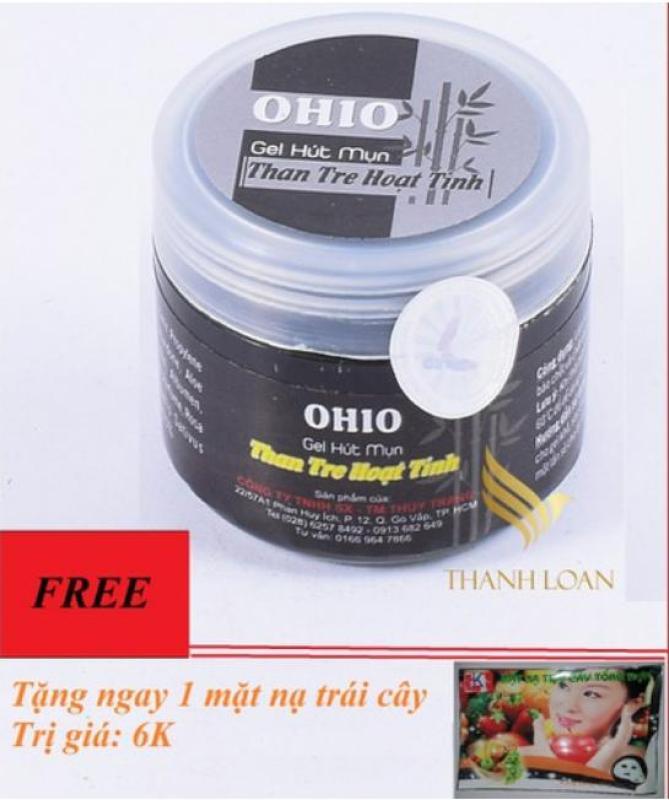 [Quà Tặng] Gel Hút Mụn Ohio - Gel Than Tre Hoạt Tính - Hút Tận Gốc Các Loại Mụn - Xinh Xinh giá rẻ