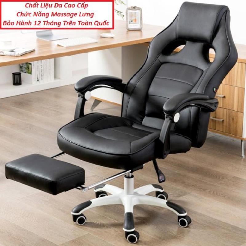 Ghế Làm Việc Kèm Massage Toàn Thân, Có Để Chân, Ghế Văn Phòng, Ghế Giám Đốc giá rẻ