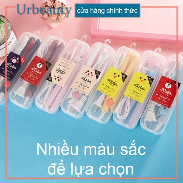 【Urbeauty】Máy duỗi tóc, Máy kẹo tóc Mini (Loại tốt, lớp phủ men gốm) nhiều màu