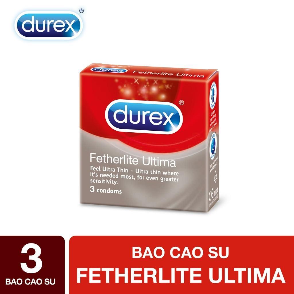 Bao cao su Durex Fetherlite Ultima 3s - Hãng phân phối chính thức