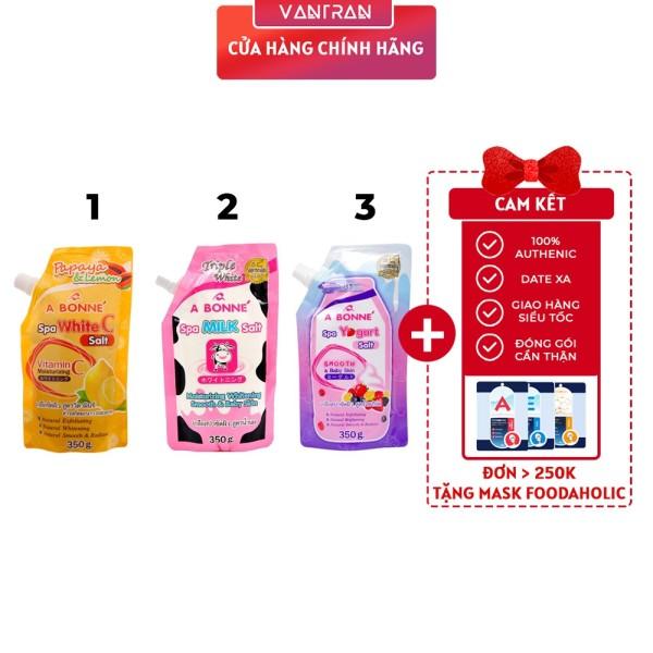 Muối tắm sữa bò tẩy tế bào chết A Bonne Spa Milk Salt Thái Lan 350gr giá rẻ