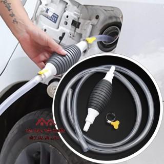 ống hút xăng hút bơm chất lỏng, hút nước bể cá cầm tay bóp để sử dụng sk362 thumbnail